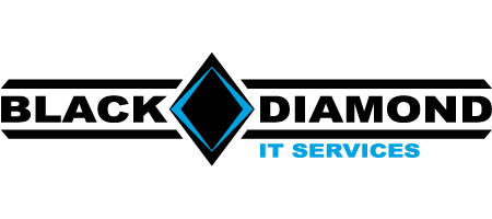 Black Diamond IT Services Logo